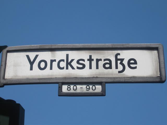 Kreuzberg: Lokal in der Yorckstraße überfallen