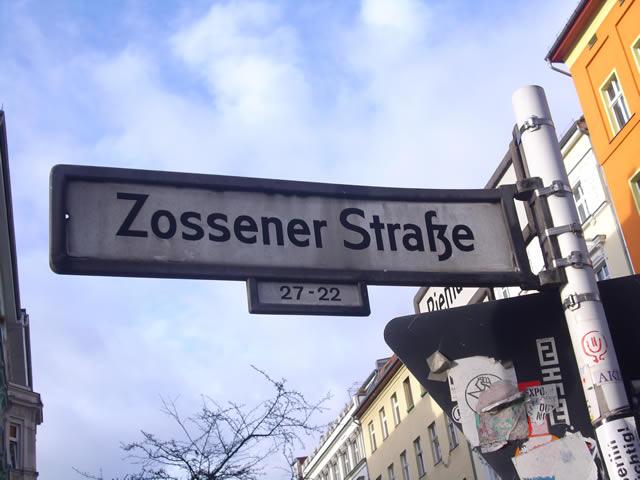 Grüne Initiative für Fußgänger*innenzone in der Zossener Straße